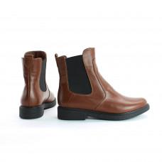 Ботинки челси из натуральной кожи рыжего цвета 12-1(Sn4)