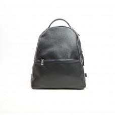 Рюкзак из мягкой кожи флотар черного цвета Арт. YS-4439