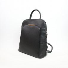 Рюкзак из мягкой кожи флотар черного цвета Арт. YS-01345