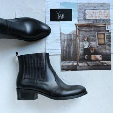 Ботинки из черной кожи Арт. 306-4