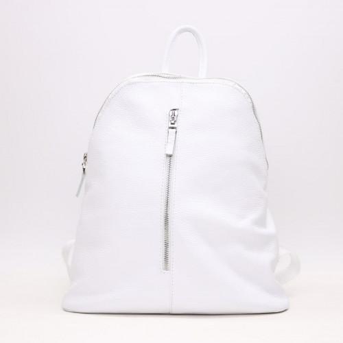 Рюкзак из кожи флотар белого цвета Арт. YS-2878